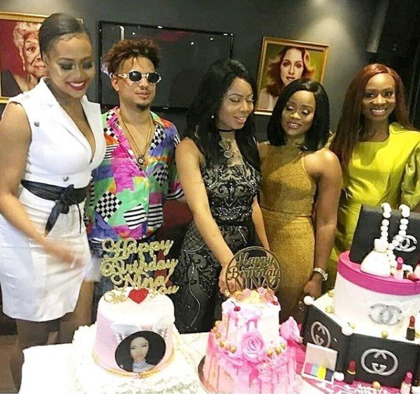 Photos from the 22nd birthday party of ex-BBNaija housemate, Nina