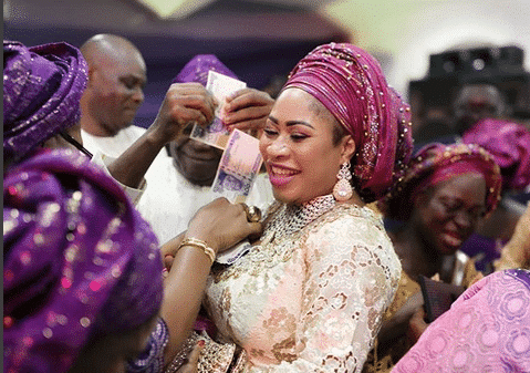 Photo of Seun Olagunju beams with smiles as her son weds in style (photos)