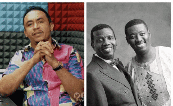 """Photo of Daddyfreeze tackles Pastor Adeboye's son for telling """"jokers"""" writing them for help, to go to regular schools"""