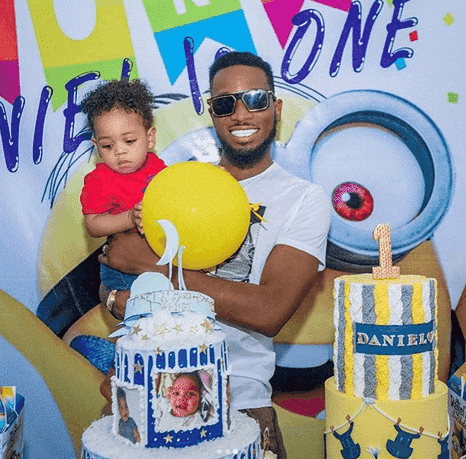 Photo of D'banj confirms son's death in emotional message