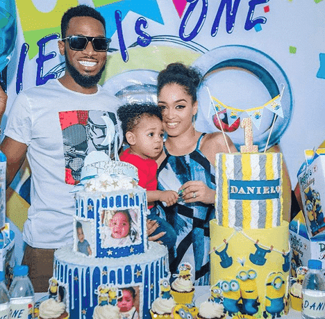 Photo of Dbanj's wife now on suicide watch after son's death