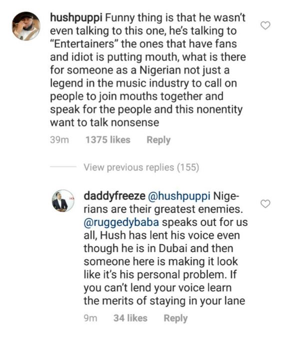 Hushpuppi and Daddy Freeze