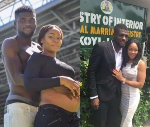 Photo of Sister-in-law calls out Super Eagles midfielder, John Ogu for abandoning daughter