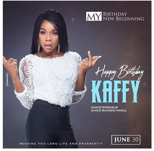 Photo of Dancer, Kaffy celebrates birthday today