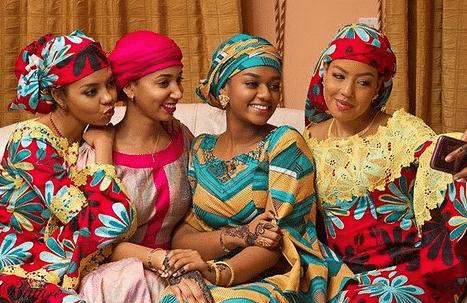 Photo of First photos as billionaire daughters, Hauwa & Meram Indimi hold Kamu ceremonies ahead of wedding