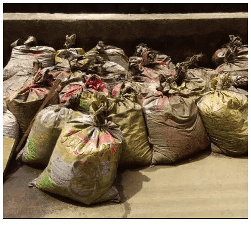 Photo of Man caught with 27 bags of human faeces in Lagos (photos)