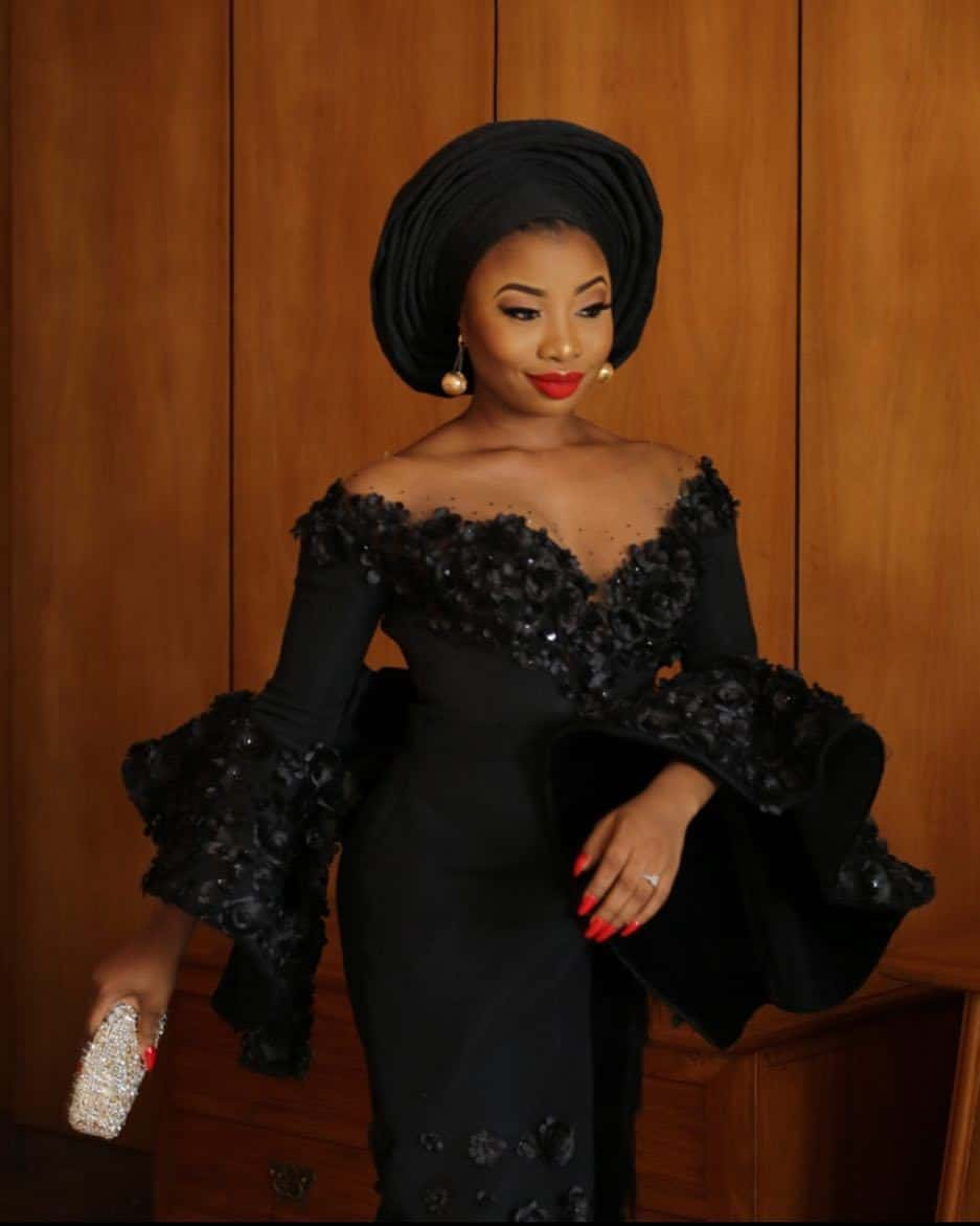 Photo of First official photos of Mocheddah's second look for her traditional wedding