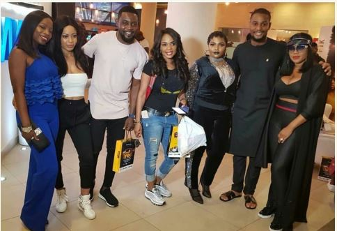 Photo of BBNaija's Nina, AY, Alexx Ekubo, Iyabo Ojo, Toyin Lawani storm Eniola Badmus' movie premiere (photos)