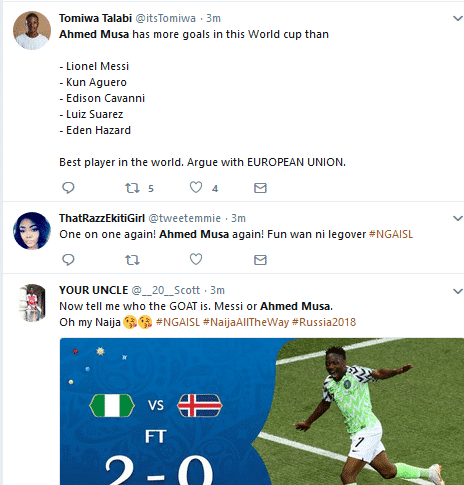 World Cup 2018: Ahmed Musa