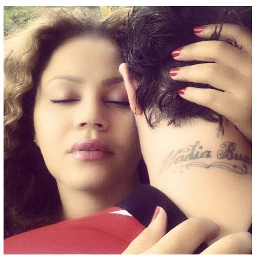 Photo of Nadia Buari and husband flaunt their wedding rings and watches in adorable photo