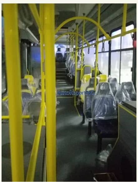 Photo of More Photos of the New Lagos Buses