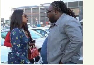 Photo of Olajumoke Orisaguna and DJ Humility feature in 'Sho Mo Age Mi' Video Skit