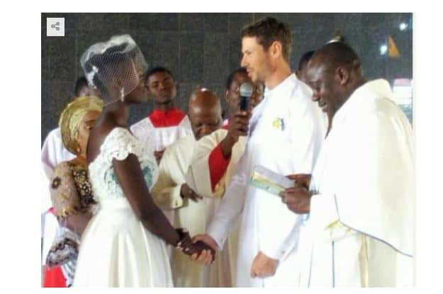 Photo of Photos from the wedding of Dora Akinyuli's daughter, Chidiogo to her Canadian husband