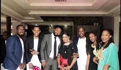 Lawal Raheem and his Ugandan Fiancee