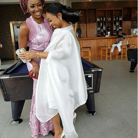 Photo of Kate Henshaw, Rita Dominic, Pawpaw, steal the show at Tchidi Chikere and Nuella's white wedding (photos, watch)