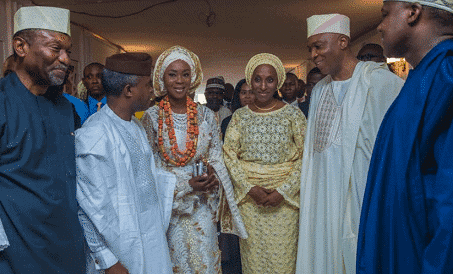 Photo of Bukola Saraki welcomes first grandchild