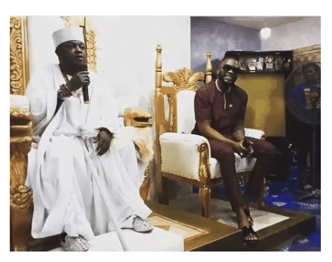 Photo of Ex BBNaija housemate, Teddy A bags chieftancy title In Ondo State