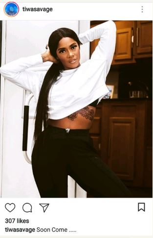 Photo of Tiwa Savage gets a tattoo on her stomach, Falz and Don Jazzy reacts
