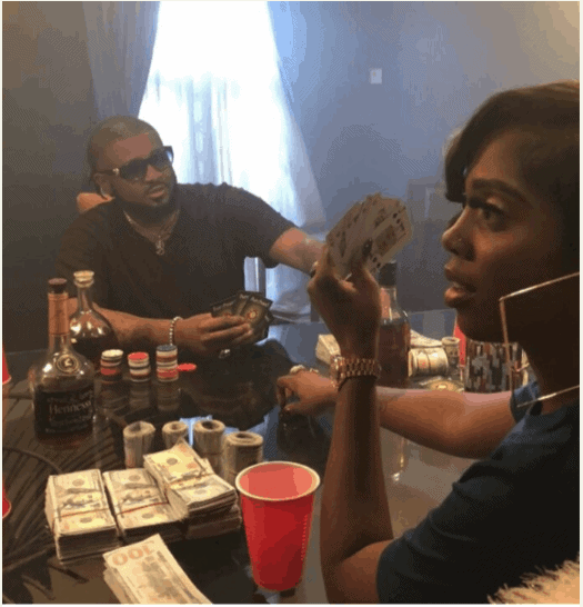 Photo of Tiwa Savage nabbed while on a gambling spree