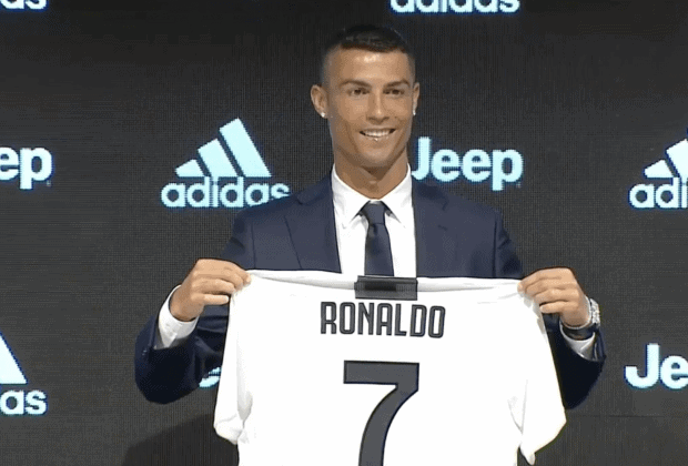 Ronaldo send a message to Messi after his unveiling as Juventus player (Read)