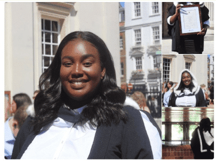 Photo of Lady who tried committing suicide over admission, celebrates her graduation