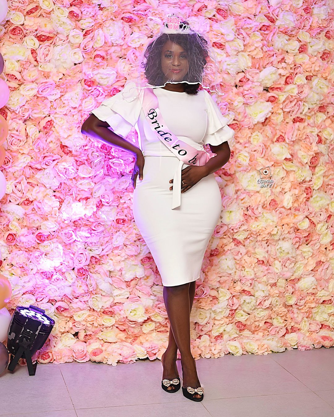 Photos from the bachelorette party of actress Bibi Bright