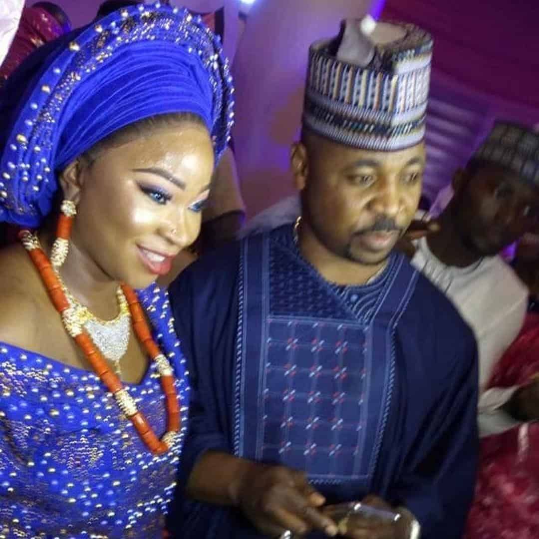Photo of Photos from the Nikai of MC Oluomo's daughter, Ayisat Adufe Akinsanya