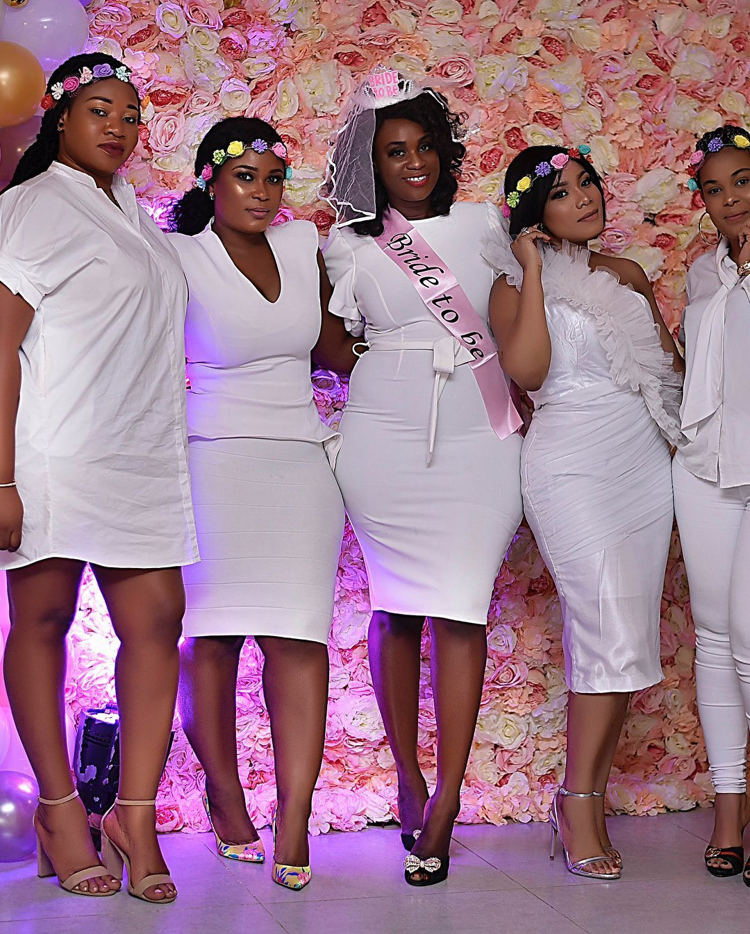 Photo of Moesha Boduong, Princess Shyngle & others turn up for the bachelorette party of actress Bibi Bright