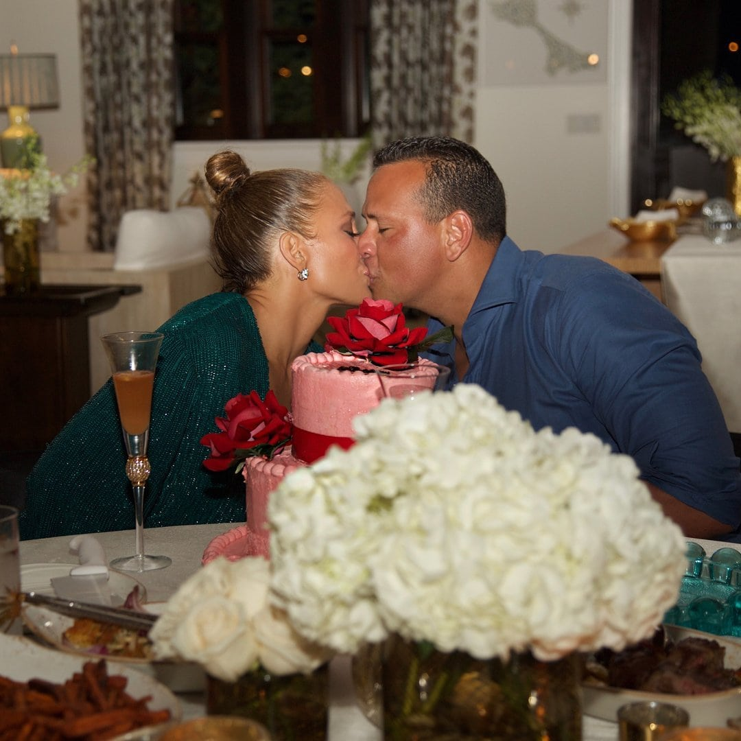 Photo of Family and friends gather as JLo celebrates her birthday in a lowkey way (Photos)