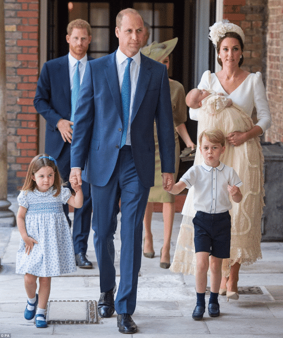 Photo of How Members of the Royal family showed up at Prince Louis' christening today