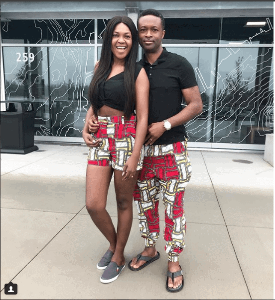 Photo of Omoni Oboli celebrates her husband of 17 years on his birthday
