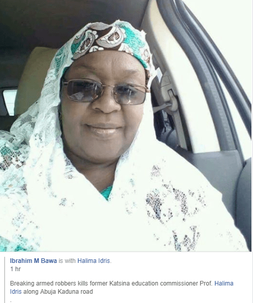 Photo of Former Education commissioner killed by armed robbers