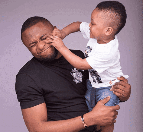 Photo of Actress Lilian Esoro wonders how she and Ubi Franklin managed to have a son (photos)