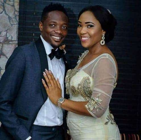 Photo of Super Eagles' Ahmed Musa and wife welcome baby boy (photos)
