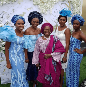 Olu and Joke Jacobs' son's wedding