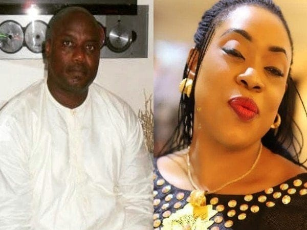 Photo of Mercy Aigbe's ex, Lanre Gentry exchanges words with Police boss, Dolapo Badmos