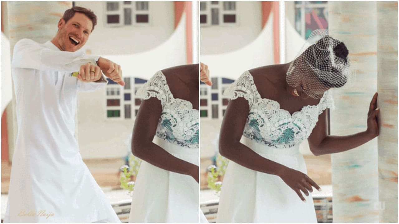 Dora Akinyuli's newly wed daughter, Chidiogo