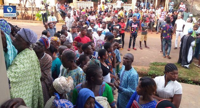 Photo of Ekiti election: Dramatic photos from the governorship election