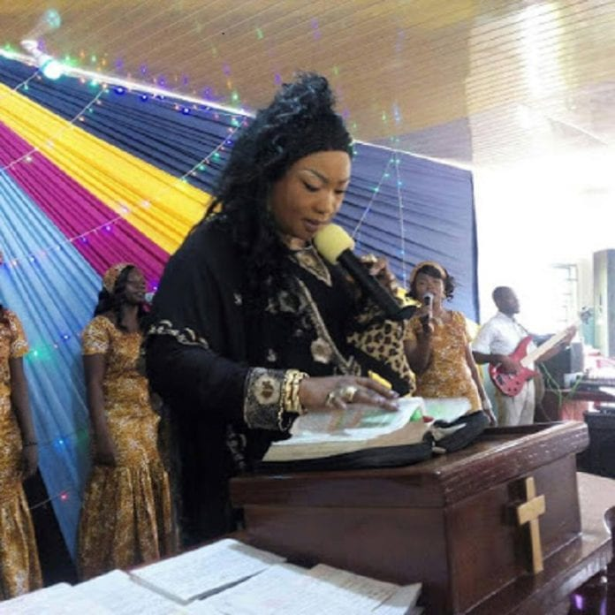Funke Adejumo: It is wrong for a female to preach in Church