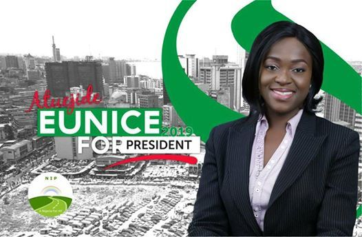 Photo of 39-year-old lawyer, Eunice Atuejide set to run for Nigerian presidency