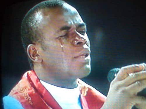 Photo of Father Mbaka attacks Buhari: Disaster is coming; angels warming up for you