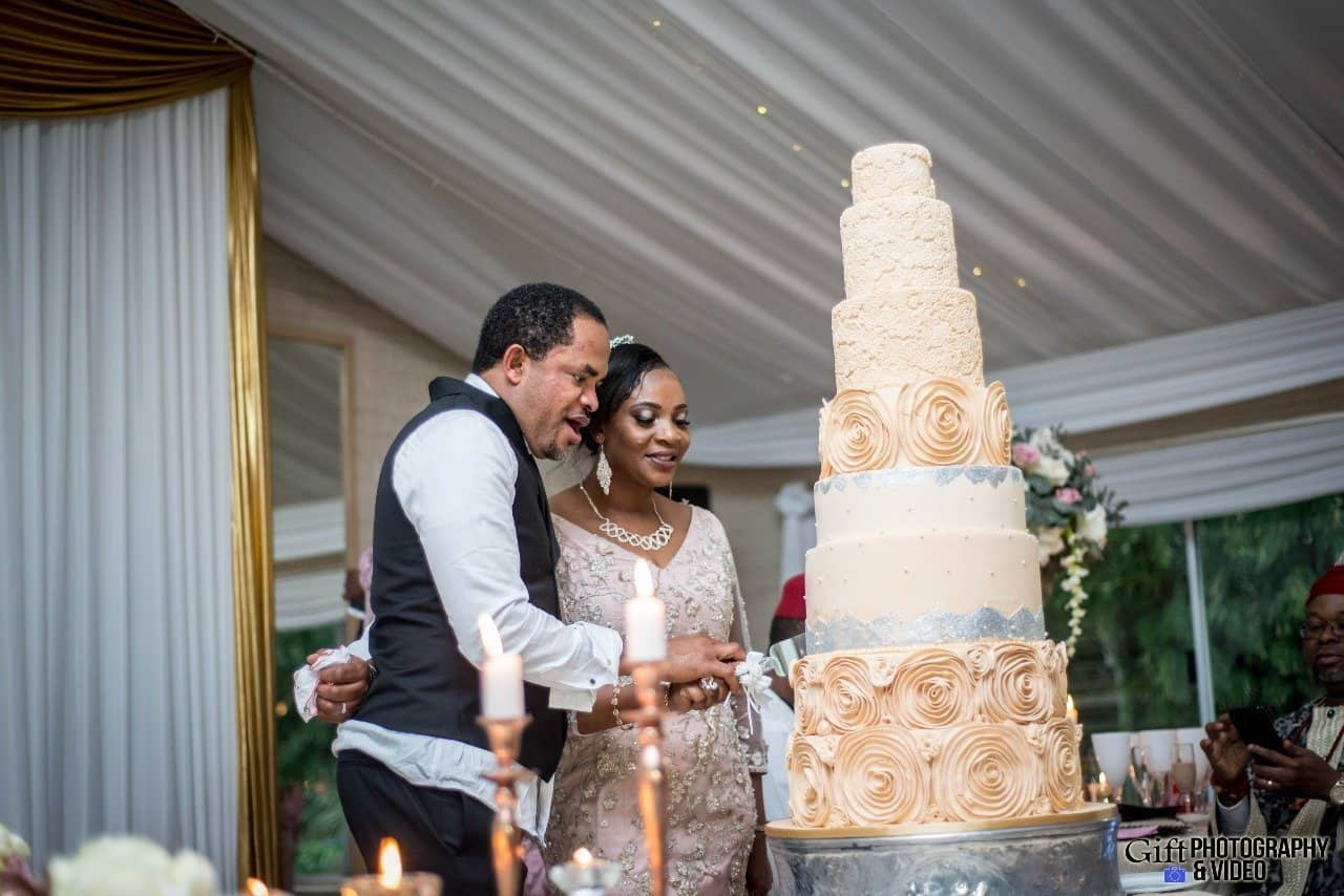 Photo of Photos from Nkem and Chuks Iduh's 10th wedding anniversary and vow renewal