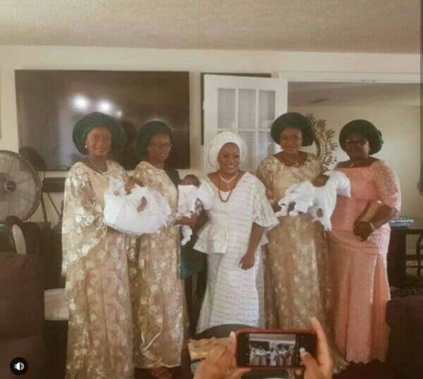 Photo of Nigerian couple welcome triplets after 20 years of marriage