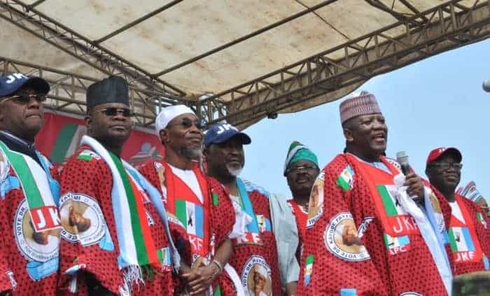 Photo of How Ekiti people defied Fayose's orders, troop out for Buhari, Fayemi