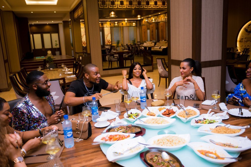 Photo of Tiwa Savage, Toke Makinwa, Alexx Ekubo, Rukky Sanda, Nadia Buari, others attend Swanky Jerry's birthday dinner