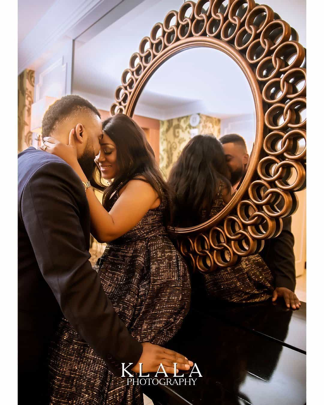 Photo of A True Love Story! Yomola and Peter's adorable prewedding session