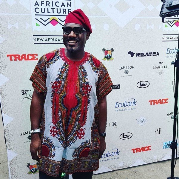 Emmanuel Macron at  'Celebrate African Culture' event