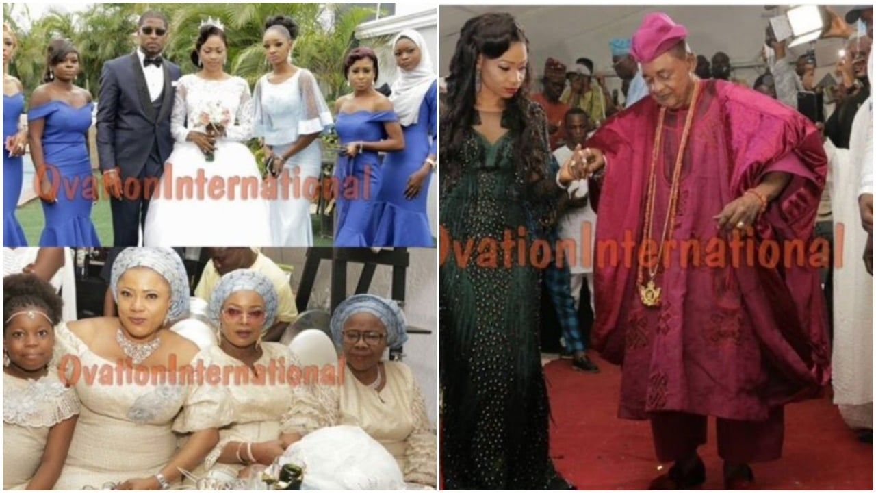 Nikkah ceremony of the daughter of the Alaafin of Oyo
