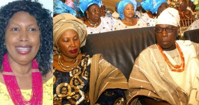 Photo of Mrs. Obasanjo reveals how Olusegun Obasanjo sleeps with his son's wives
