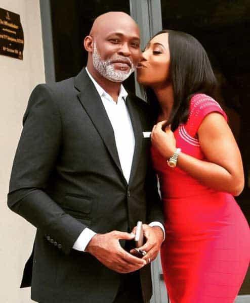 Photo of My husband permitted me to kiss RMD – Dakore Akande